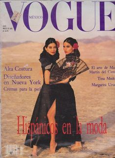 This is a collection of scans of the original pages of the Vogue Mexico interview with Angelique Rockas, July 1992 issue. The scans cover the Cover, the index. Vogue Magazine Covers, Fashion Magazine Cover, Vogue Covers, High Fashion Photography, Glamour Photography, Editorial Photography, Lifestyle Photography, Vogue Vintage, Madonna Vogue