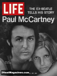 Life Magazine April 16, 1971 : Cover - Ex-Beatle Paul McCartney tells his story.