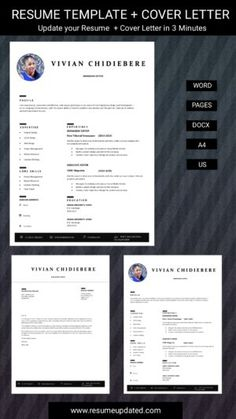 Cover Letter Format, Cover Letter For Resume, Cover Letter Template, Cv Design Template, Modern Resume Template, Resume Templates, Resume Review, Sales Resume, Professional Resume