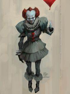 vince-serrano-pennywise-paint.jpg (1920×2560)