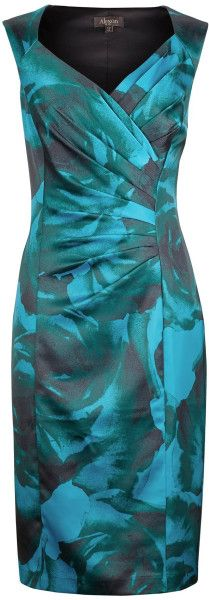Modern Rose Print Dress - Lyst 63-