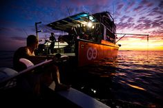 Sunset aboard the #RipCurl Quest #surf charter in the Mentawais.