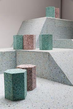 Instalação recria os playgrounds brutalistas de Londres,© Tristan Fewings / Getty Images for RIBA