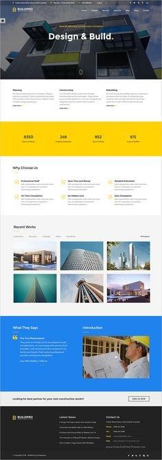 BuildPro is a wonderful responsive #Bootstrap #HTML5 template for construction and #building company #websites with 12+ stunning homepage layouts download now➩ https://themeforest.net/item/buildpro-construction-and-building-website-template/16555797?ref=Datasata