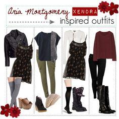 Aria Montgomery's style {PLL Mini Series}
