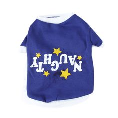 Xinhuaya Christmas Clothes Apparel Coat Pullover Pet Puppy Sweater T-Shirt Blue M ** Don't get left behind, see this great dog product : Dog sweaters