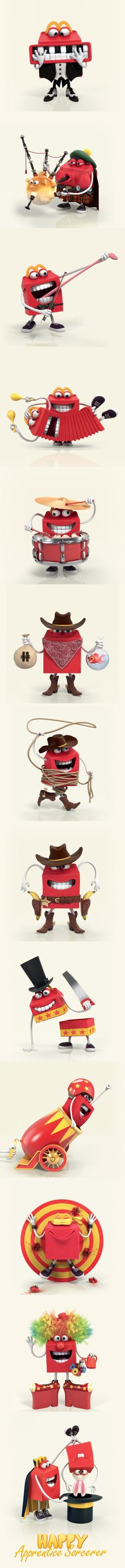http://www.behance.net/gallery/MC-DONALDS-HAPPY-MEAL-Happy-families-Game/7164653