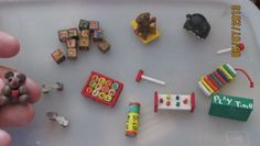 miniature doll house toys xylophone by tbklover on Etsy