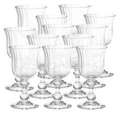 Mikasa French Countryside Crystal Wine Glasses