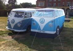 Campingbus: VW Bus Camping Zelt