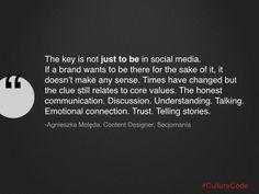 #socjomania #whoweare #marketing #agnieszkamoleda #socjomania #trainings #socialmedia Emotional Connection, Core Values, Telling Stories, Communication, Believe, Cards Against Humanity, Social Media, Social Networks, Social Media Tips