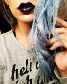 """134 Likes, 8 Comments - Brittany Brinson (@bkelly8801) on Instagram: """"Dark lips & Long sleeves 🍁Hello fall weather🍁 . . Deets: Lips- nyx, oh put it on Thermal- hell &…"""""""