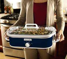 If you have invited many of your guests an relative at your home to celebrate any sort of occasions, then time to make an order for the large slow cooker which can be used to prepare food for many.