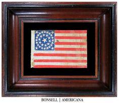 35 Star Antique US Flag