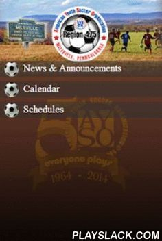 Millville AYSO  Android App - playslack.com , Download Millville AYSO Region 475's mobile app and get the latest information and updates right from your mobile smartphone or tablet. This app also includes native mobile features such as maps, push notifications, social media links, video and a very cool picture-card frame tool. Stay connected to Millville AYSO any time, anywhere!