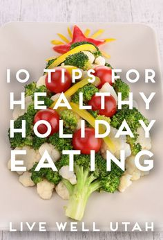 Don't let holiday parties derail your efforts to eat healthy. Try these tips from LIVE WELL UTAH.