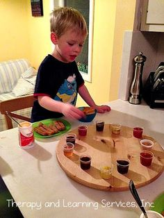 Finicky Eater Fun!   Visit pinterest.com/arktherapeutic for more #feedingtherapy #pickyeater ideas