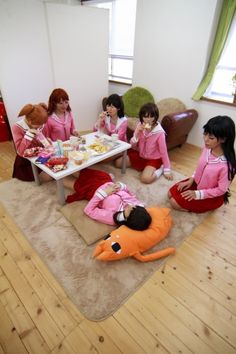 Azumanga Daioh cosplay Might need to do a group cosplay like this