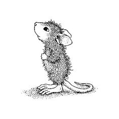 line drawing mouse - Google Search