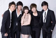 Boys Over Flowers. Geum Jan Di and F4 Boys Over Flowers, Boys Before Flowers, Flower Boys, Kim So Eun, Kim Joon, Asian Actors, Korean Actors, Korean Dramas, Korean Celebrities