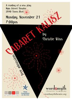 Christies cabaret is the fastest growing chain christies cabaret a reading of cabaret kalisz a new work by christie winn fandeluxe Choice Image