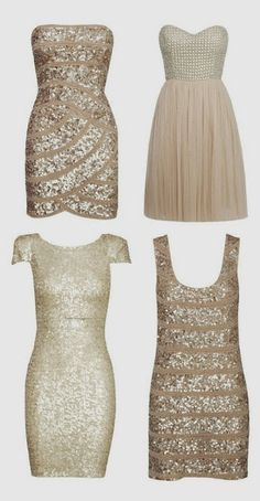 New years eve dresses-Love the top left dress!! Why can't I find something like that anywhere in stores!?
