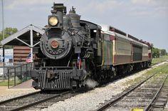 The Grapevine Vinatage Railroad - Grapevine Texas