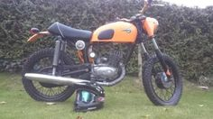 mz ts 125 scrambler motorcycle found on from werksmotorcycles motorcycles. Black Bedroom Furniture Sets. Home Design Ideas