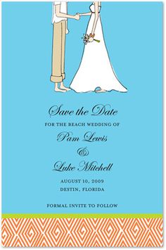 This card features a romantic girl meet boy scene that is perfect for save the date invitations and engagement party invitations. Simple yet elegant card that that been themed to emphasize romantic moments. Casual Wedding Invitations, Engagement Party Invitations, Save The Date Invitations, Invites, Romantic Girl, Romantic Moments, Tropical, Weddings, Couples