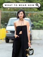 How To Wear All Black In The Summer Without Looking Like You've Made A Mistake #refinery29  http://www.refinery29.com/all-black-summer-outfits