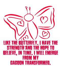Check out my new PixTeller design! :: Like the butterfly, i have the strength and the hope to beli...