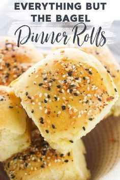 Whip up a batch or two of these soft & delicious Everything But The Bagel Dinner Rolls! Serve them as is or use them as buns for sliders or sandwiches. #EverythingButTheBagel #DinnerRolls #Recipe via @xtremecouponmom
