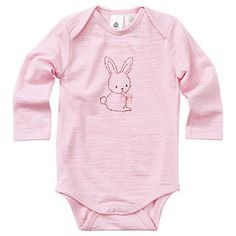 Catriona Rowntree Wool Bodysuit - Pink