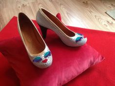 Chie Mihara - Gorgeous Quirky Shoes Size 5/38 Nabila on ebay today wish they were a 6