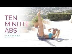 10 Minute Abs   Rebecca Louise - YouTube
