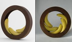 Circular fruit bowls! What a great idea!