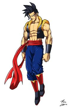 Son-El (Goku/Superman fusion) by phil-cho on DeviantArt Comic Books Art, Comic Art, Anime Manga, Anime Art, Goku Manga, Superman, Green Superhero, Dragon Ball Gt, Son Goku