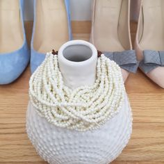 """White Beaded Bracelet Multi-strand beaded bracelet from Anthropologie. Measures approx. 8.5"""" from end to end. Never worn and in perfect condition! No PP, trades, holds, or lowball offers. Happy poshing!  Anthropologie Jewelry Bracelets"""
