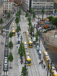 Mulhouse, France trams ,can't wait go in August: