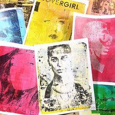 printing techniques printmaking Gelatin Printing M - printmaking Gesso Art, Round Robin, Gelli Plate Printing, Transfer Printing, Transfer Tape, Foto Transfer, Gelli Arts, Art Journal Techniques, Plate Art