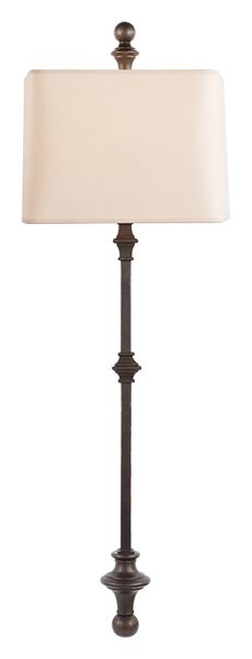 CAWDOR STANCHION WALL LIGHT - Downstairs Bath - $315