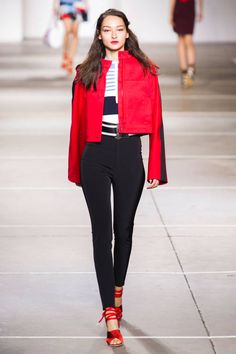 Topshop Unique Spring 2015. See all the best looks from London Fashion Week here.