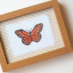 Çarpı işi Çerçeve - Kelebek