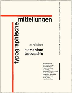 'Elementary Typography': Cover, October 1925 issue of 'Typographic News' Type Design, Layout Design, Web Design, Herbert Bayer, Typography Poster, Graphic Design Typography, Typographic Logo, Book Cover Design, Book Design
