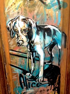 Alice - street art - Marseille 6, rue pastoret (aout 2014)