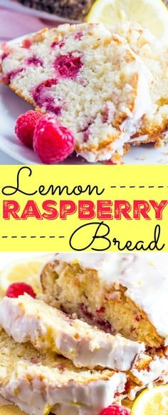 Lemon Raspberry Brea