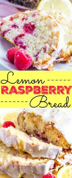 Lemon Raspberry Brea