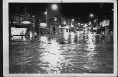 Downtown Morristown Flood - July 8, 1963