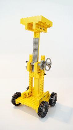 850-1 Fork-Lift Truck - recenzja + speed build | Lego po 30-tce