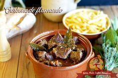 Carbonade flamande. Un plat gourmand et familial qui nous vient du nord. A tester sans modération ... http://www.petitsplatsentreamis.com/carbonnade-fla... - Patricia M (Patricia Mornay) - Google+